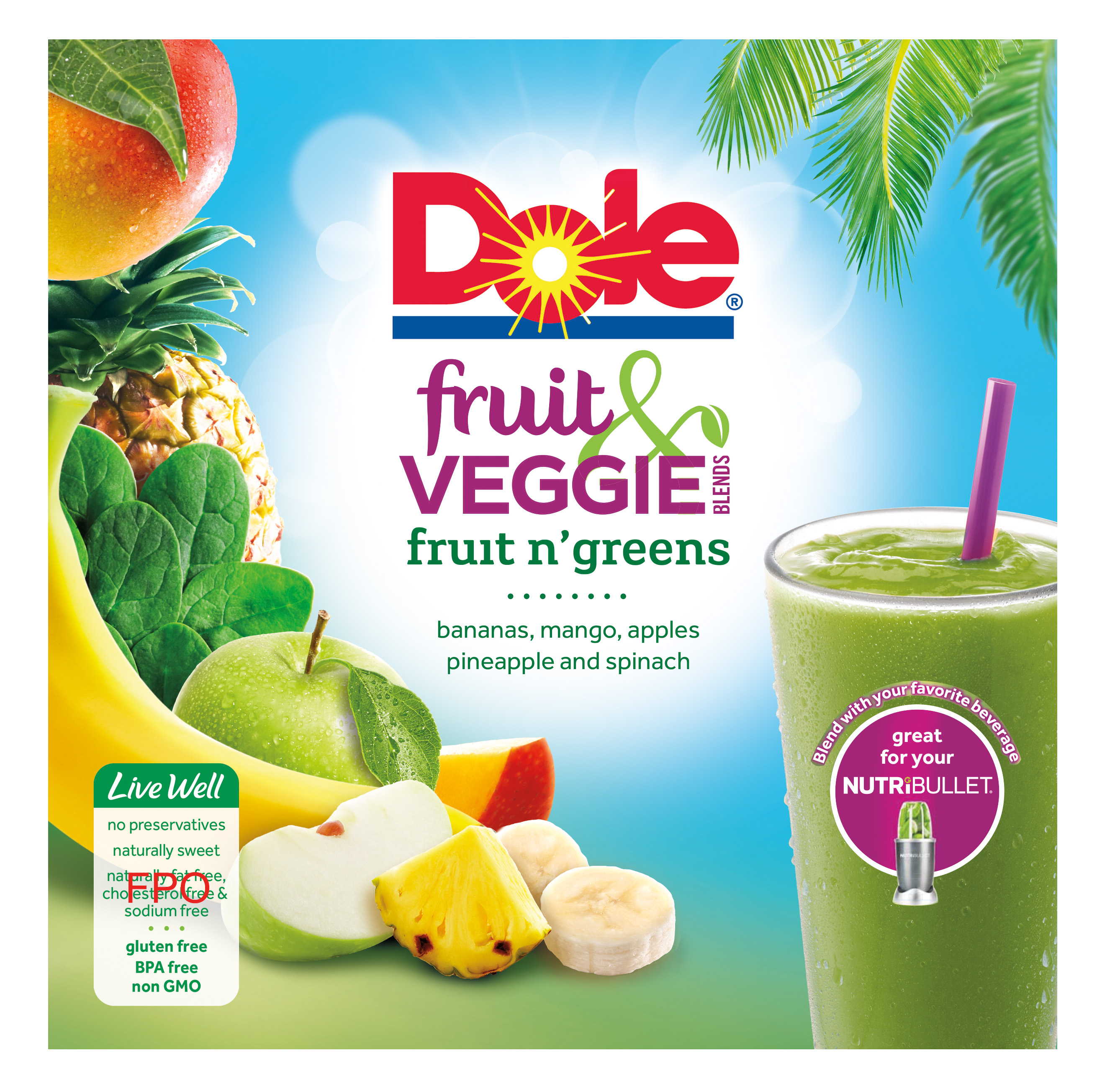 Dole Fruit and Veggie Blends Fruit n Greens Layout CMYK F1